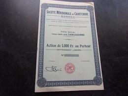 SOMECA Société Méridionale Du Caoutchouc (carcassonne,aude) - Shareholdings