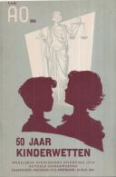 AO-reeks Boekje 586 - C. Wilkeshuis/Theo De Vries: 50 Jaar Kinderwetten - 25-11-1955 - Geschiedenis