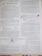 Guerre 14-18 Le Fokker  Avion De Chasse  Allemand  Aviation - Unclassified
