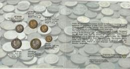 Kazakhstan Set 6 Coins 100-50-20-10-5-1-Tenge 1993-2003 Perfect-Condition - Kazajstán