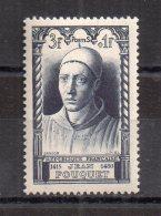 3 +1 Francs Jean Fouquet.  Bonnet à Pointe. (Alb629) - Variedades: 1945-49 Nuevos