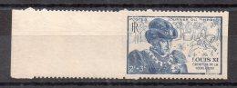 2 + 3 Francs Louis XI. Dentelé 2 Cotés. (Alb630) - Variedades: 1945-49 Nuevos