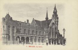 BELGIQUE - Bruges - Brugge - La Gare - Dos Non Divisé - Brugge