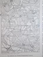 Guerre 14-18 Semaine Militaire 27 Janvier  3 Fevrier  FRISE -Dompierre- Lihons  Chaulnes  Mericourt + Carte Front - Unclassified