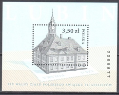 Poland  2006 - Polish Philatelic Congress Lubin - Mi M/s 174 A - MNH(**) - Blocs & Hojas