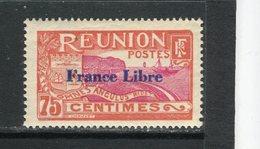 REUNION - Y&T N° 188** - Rade De Saint-Denis - Surchargé France Libre - Réunion (1852-1975)