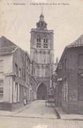 Poperinge, Poperinghe, L'Eglise St Bertin Et Rue De L'Eglise (pk36906) - Poperinge