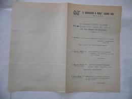 FASCISMO VOLANTINO REGIO CONSERVATORIO GIUSEPPE VERDI MILANO 1930 SAGGIO ALUNNI. - Europe