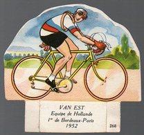 (cyclisme) Image VAN EST Offert Par LA VACHE SERIEUSE  N°268 (PPP8408) - Vecchi Documenti