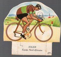 (cyclisme) Image SOLER  Offert Par LA VACHE SERIEUSE  N°270 (PPP8409) - Vecchi Documenti