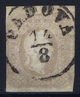 Osterreich: Mi 23 C GrauviolettObl./Gestempelt/used   1861 CDS Padova - 1850-1918 Imperium