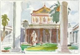 Ciudad Del Vaticano. Postal Del Jubileo Del Año 2000. Basílica De San Pablo, Extramuros. - Vaticano (Ciudad Del)