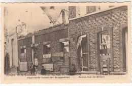 Poperinge, Poperinghe, Ofgebrande Huizen Der Bruggestraat, Ruines (pk16711) - Poperinge