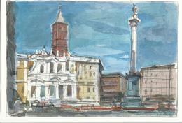 Ciudad Del Vaticano. Postal Del Jubileo Del Año 2000. Basílica De Santa María La Mayor. - Vaticano (Ciudad Del)