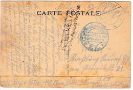 Première Guerre Mondiale Freikorps Feldpost Cachet Militaire Arm Batl 140 1917 WW1 - Lettres & Documents
