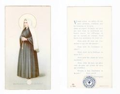 Relique Sainte Bernadette Soubirous, étoffe Non Précisée, éd. NB C/802 - Imágenes Religiosas