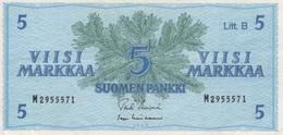 (B0084) FINLAND, 1963. 5 Markkaa. Litt. B. P-106Aa. VF - Finland