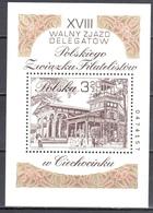 Poland  2002 - General Convention Of The Polish Philatelic Association - Mi M/s 152A - MNH(**) - Blocs & Hojas
