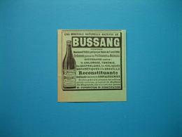 (1898) Eau Minérale Naturelle Gazeuse De BUSSANG - Documentos Antiguos
