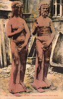 ROUEN - La Cathédrale - Statues D'Adam Et Eve - Rouen
