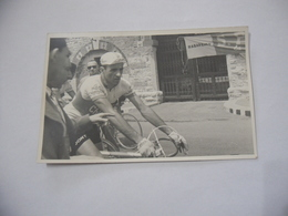 FOTO CICLISMO 39°GIRO D'ITALIA 1956 CICLISTA TOGNACCINI  AUTO D'EPOCA Vintage - - Ciclismo