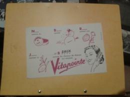 ---- BUVARD --- Lotion Vitapointe - Produits Pharmaceutiques