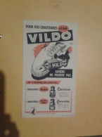 ---- BUVARD ---   CIRAGE VILDO - Produits Ménagers