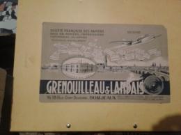 ---- BUVARD --- BORDEAUX  - GRENOUILLEAU Et LANDAIS Sacs En Papier  Petits Défauts  - - Stationeries (flat Articles)