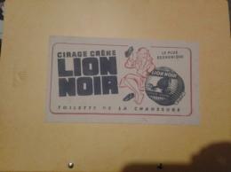 ---- BUVARD ---   Cirage Lion Noir - Scarpe