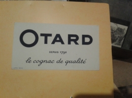 ---- BUVARD ---   Cognac OTARD Le Cognac De Qualité  TTB - Liqueur & Bière