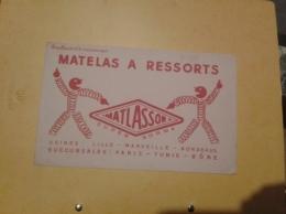 ---- BUVARD ---   Matelas à Ressorts MATLASSOR - TB - Produits Ménagers