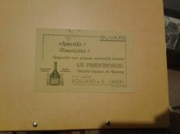---- BUVARD ---  Sportifs Touristes Distillerie ROLLAND - CAHORS *- Vieille Liqueur LA FRANCISCAINE - TB - Liquor & Beer