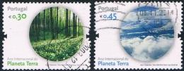 Portugal - Année Internationale De La Planète Terre 3241/3242 (année 2008) Oblit. - 1910-... République