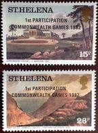 St Helena 1982 Commonwealth Games MNH - Saint Helena Island