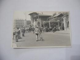 FOTO CICLISMO 39°GIRO D'ITALIA 1956 CICLISTA FALLARINI MOTO GUZZI  AUTO D'EPOCA Vintage - - Ciclismo