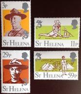 St Helena 1982 Scouts MNH - Saint Helena Island