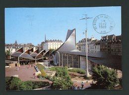 CPM - 76 - ROUEN - PLACE DU VIEUX MARCHÉ, EGLISE SAINTE JEANNE D'ARC - Rouen