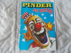 CIRQUE PINDER Jean Richard Programme 1987 - Programs