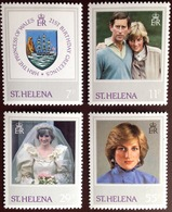 St Helena 1982 Princess Diana MNH - Saint Helena Island