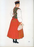 Costume De Kurpie Puszczanskie, POLOGNE...1939 - Collections