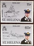 St Helena 1984 Royal Visit MNH - Saint Helena Island