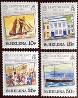 St Helena 1984 Lloyds List MNH - Saint Helena Island