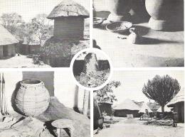 RHODESIA KARANGA VILLAGE, ZIMBABWE RUINS NATIONAL PARK. UNUSED POSTCARD Sa4 - Zimbabwe