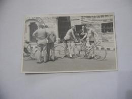 FOTO CICLISMO 39°GIRO D'ITALIA 1956 CICLISTA   FALLARINI AUTO D'EPOCA Vintage - - Ciclismo
