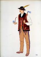 Costume De Zakopane Carpathes, POLOGNE...1939 - Collections