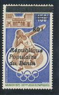 Bénin 1987  (Munich JO  - 80F / 150F) ** Luxe  RARE - Benin – Dahomey (1960-...)