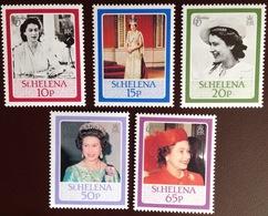 St Helena 1986 Queen's 60th Birthday MNH - Saint Helena Island