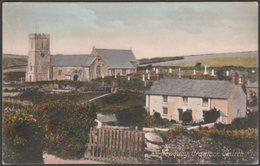 Crantock Church, Near Newquay, Cornwall, C.1905-10 - Hartnoll's Postcard - England