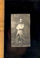 Photographie Militaire Soldat Poliu Guerre 1914 1918 M CAMBIER En 1915 Armée Régiment - Guerre, Militaire