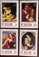 St Helena 1988 Christmas Paintings MNH - Saint Helena Island